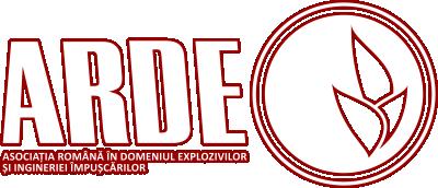 ASOCIATIA ROMANA IN DOMENIUL EXPLOZIVILOR SI INGINERIEI IMPUSCARILOR Logo